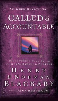 Called And Accountable 52-Week Devotional